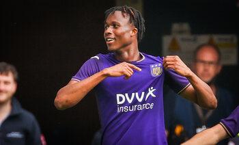 Christian Kouamé va-t-il bousculer la hiérarchie des attaquants à Anderlecht?