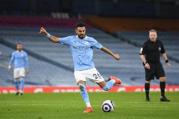 Mahrez hoopt Manchester City voorbij Dortmund te loodsen