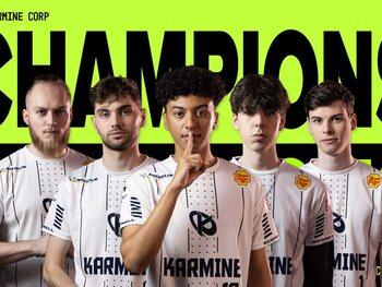 La Karmine Corp couronnée double championne d'Europe