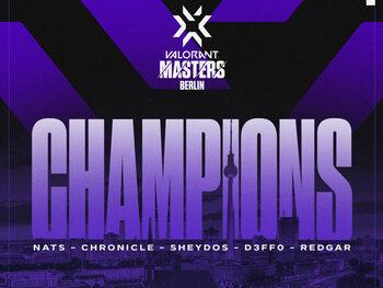 Valorant : Les Gambit Esports victorieux aux Masters de Berlin