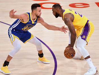 Lakers vs Warriors, ofwel LeBron vs Curry: een play-off-affiche om de play-ins af te trappen
