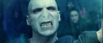 Ralph Fiennes en Voldemort