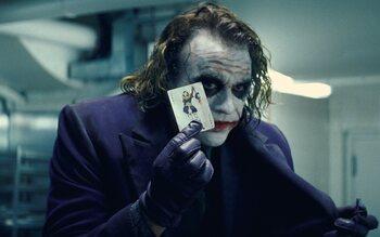 Heath Ledger pour le Joker