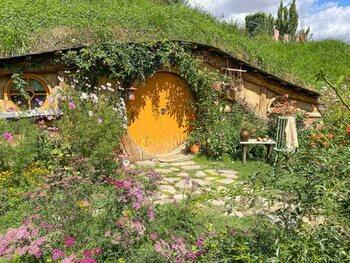 Les maisons de Hobbits